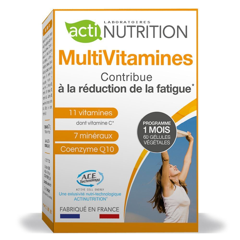 actinutrition multivitamines boostez votre vitalit compl ments sant actinutrition. Black Bedroom Furniture Sets. Home Design Ideas